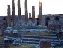 """""""Area Sacra, Site of the Roman Senate Where Julius Caesar was assassinated"""""""