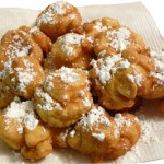 """San Guiseppe is the day for zeppole"""