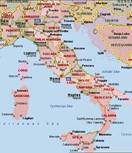 Map Of Southern Italy Regions.What S The Difference Between Northern And Southern Italian Food